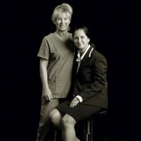 Loretta Bartolini e Denise - Sala operatoria, poliambulatorio