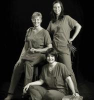 Romina Zaccaria, Valentina Fortibuoni, Annalisa Bianchi - Sala operatoria